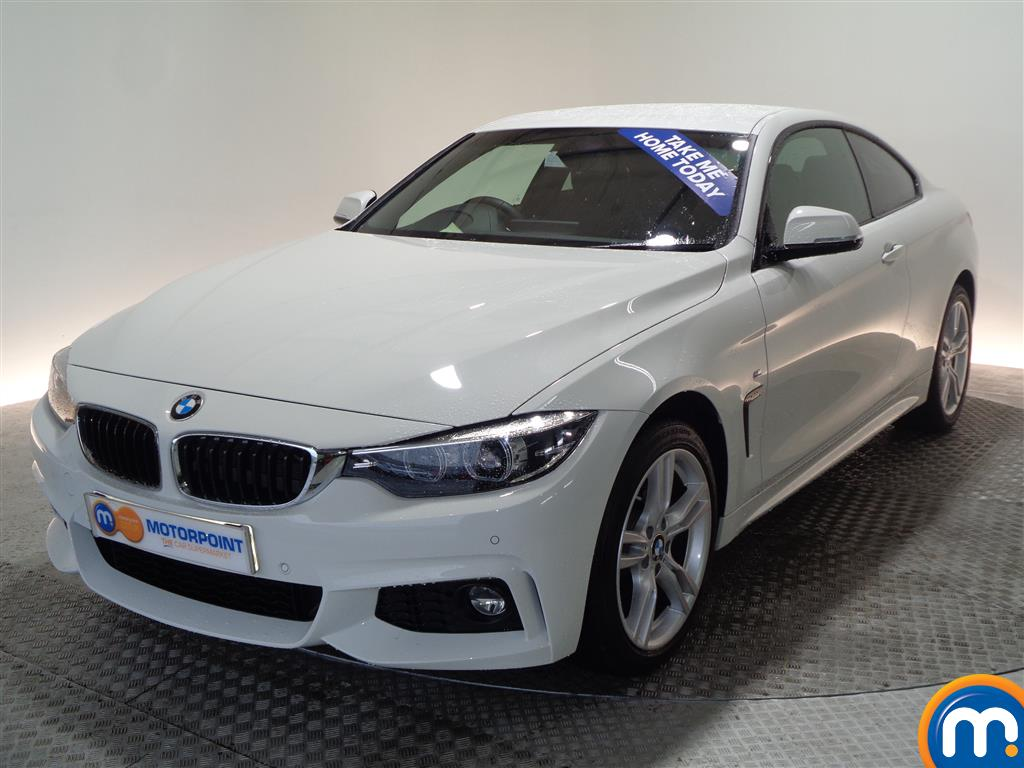 BMW 4 Series M Sport Automatic Petrol Coupe - Stock Number (948478) - Passenger side front corner