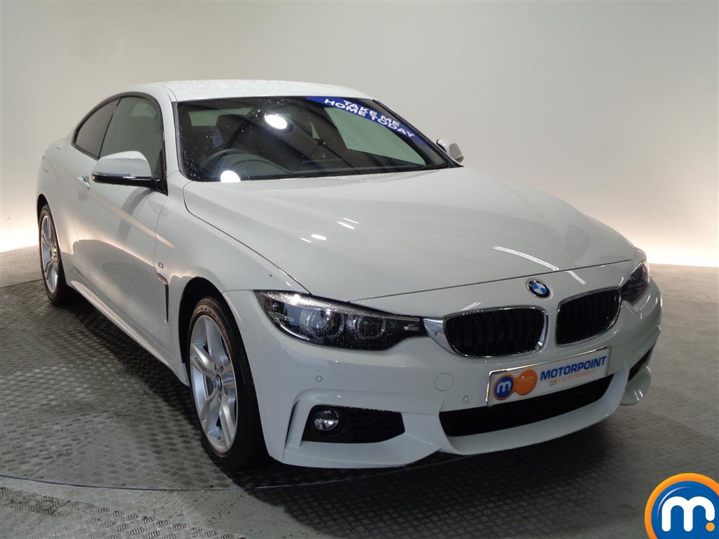 BMW 4 Series M Sport Automatic Petrol Coupe - Stock Number (948478) - Drivers side front corner