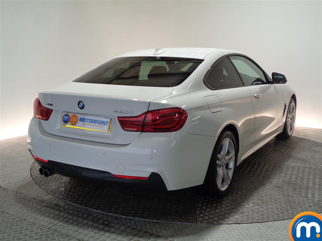 BMW 4 Series M Sport Automatic Petrol Coupe - Stock Number (948478) - Drivers side rear corner