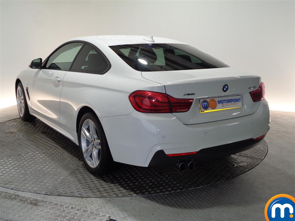 BMW 4 Series M Sport Automatic Petrol Coupe - Stock Number (948478) - Passenger side rear corner