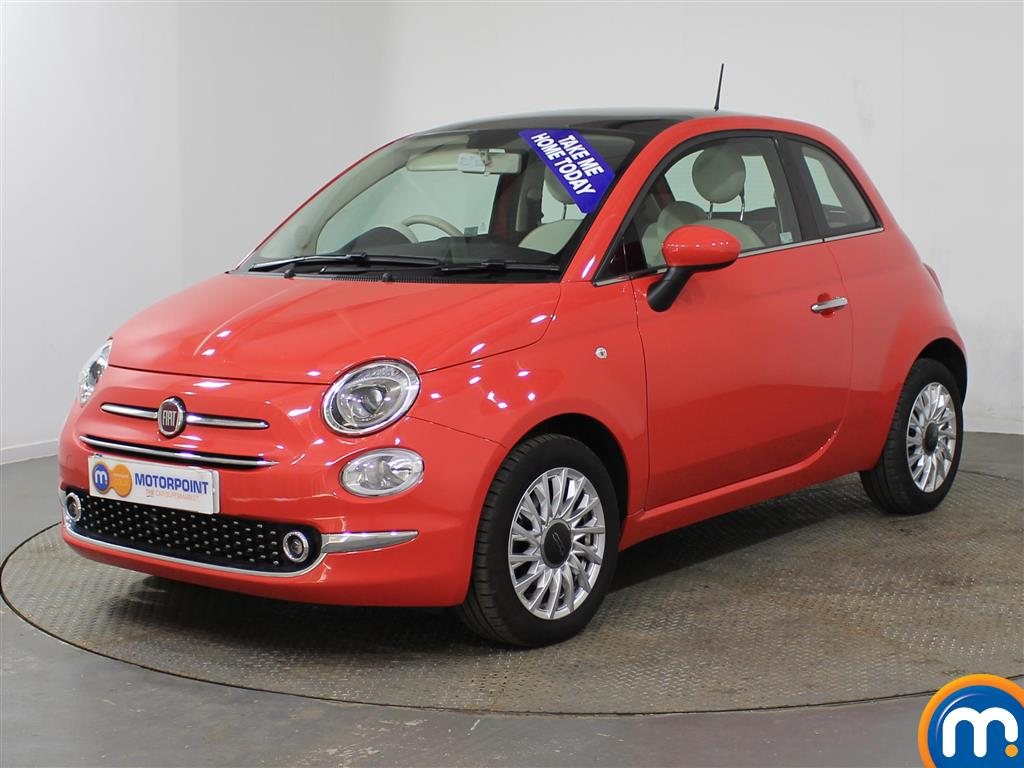 Fiat 500 Lounge - Stock Number (944570) - Passenger side front corner