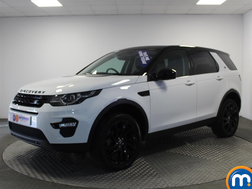 Land Rover Discovery Sport HSE Black - Stock Number (950479) - Passenger side front corner