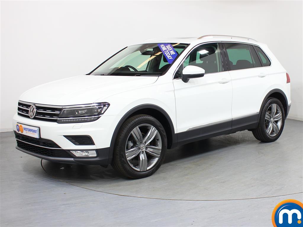 Volkswagen Tiguan SEL - Stock Number (950204) - Passenger side front corner