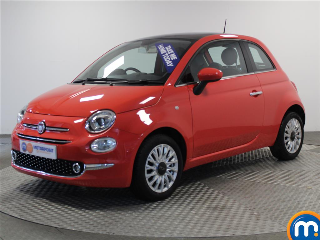 Fiat 500 Lounge - Stock Number (951017) - Passenger side front corner