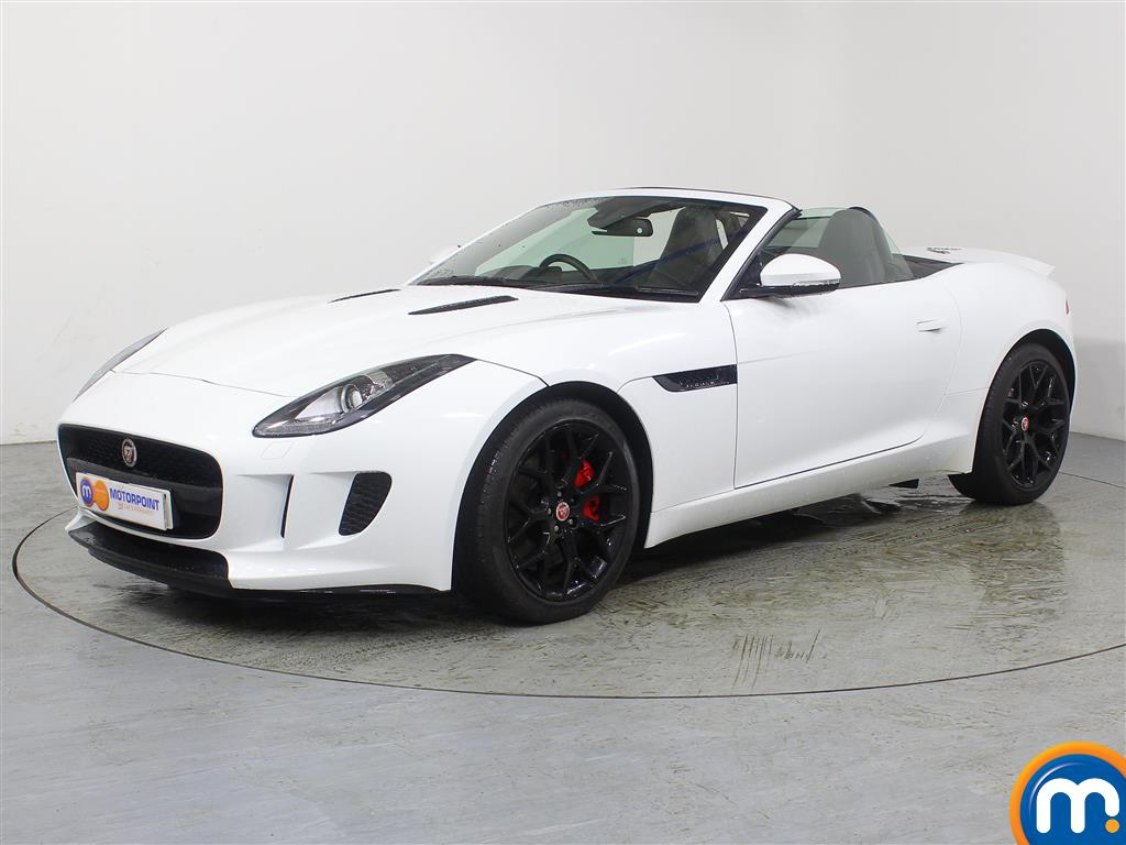 Jaguar F-Type 3.0 Supercharged V6 2dr - Stock Number (954050) - Passenger side front corner