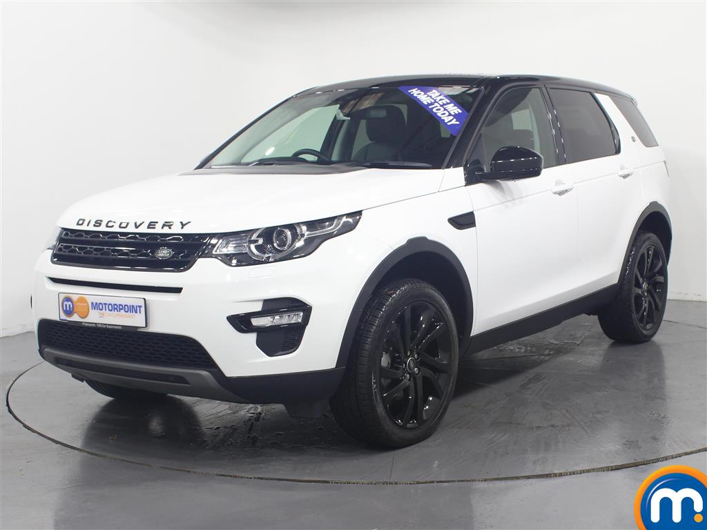 Land Rover Discovery Sport HSE Black - Stock Number (953039) - Passenger side front corner