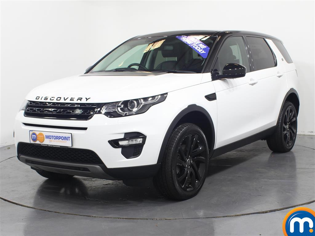 Land Rover Discovery Sport HSE Black - Stock Number (953053) - Passenger side front corner