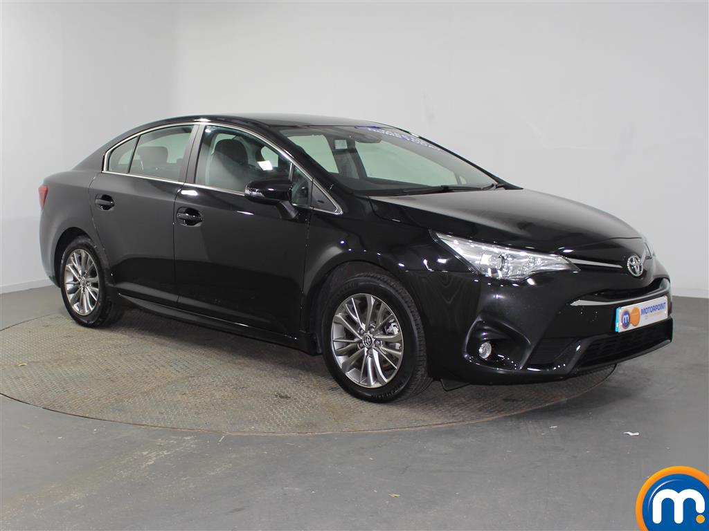 Toyota Avensis Business Edition Manual Diesel Saloon - Stock Number (957099) - Drivers side front corner