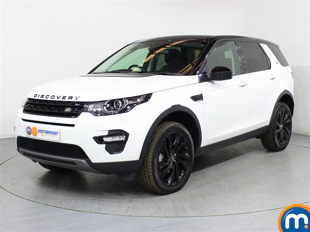 Land Rover Discovery Sport HSE Black - Stock Number (958090) - Passenger side front corner