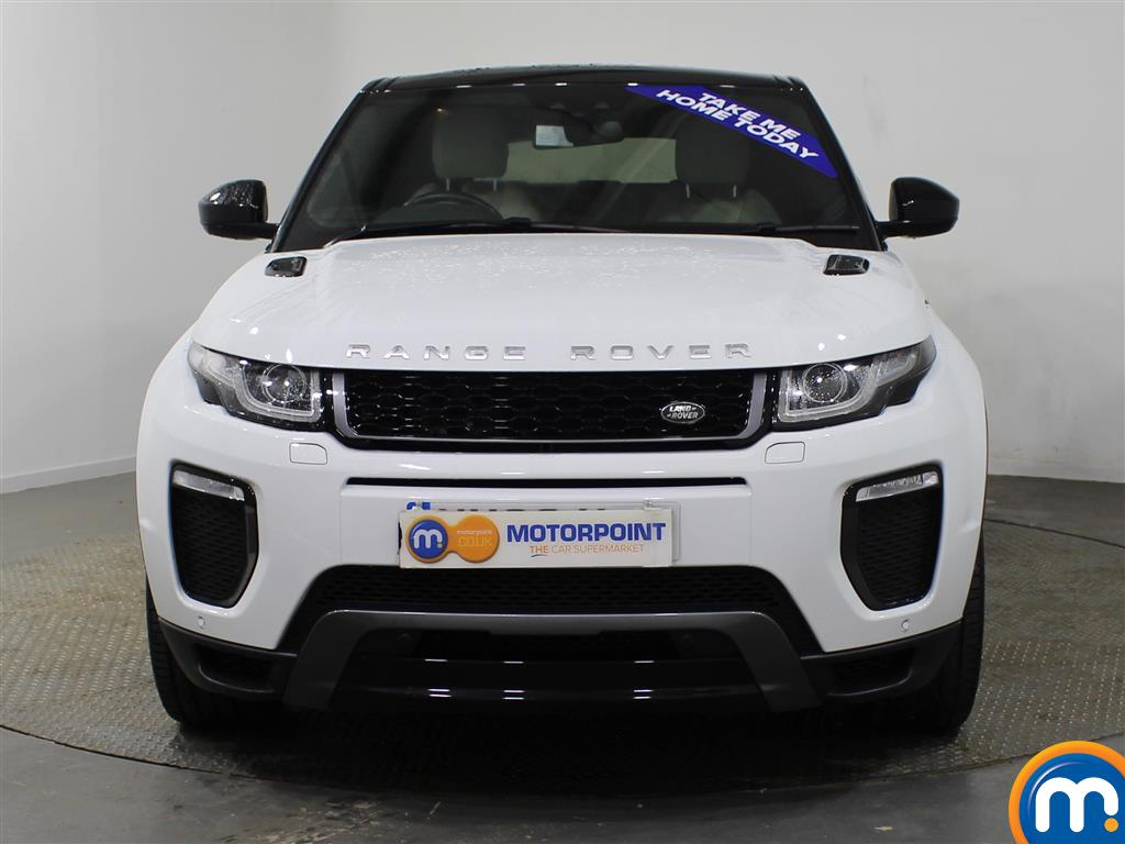 Used Or Nearly New Land Rover Range Evoque 20 Td4 White Diesel Hatchback Hse Dynamic 5dr