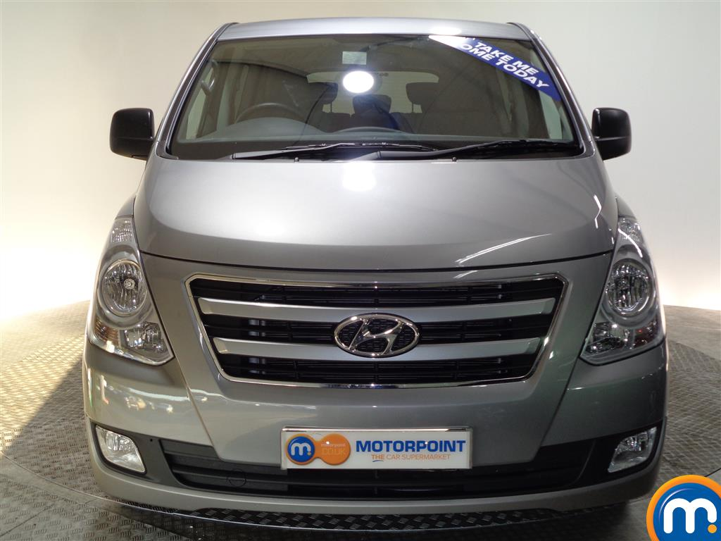Hyundai I800 Se Nav Manual Diesel People Carrier - Stock Number (956616) - Front bumper