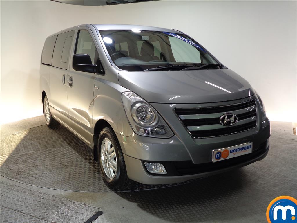 Hyundai I800 Se Nav Manual Diesel People Carrier - Stock Number (956616) - Drivers side front corner
