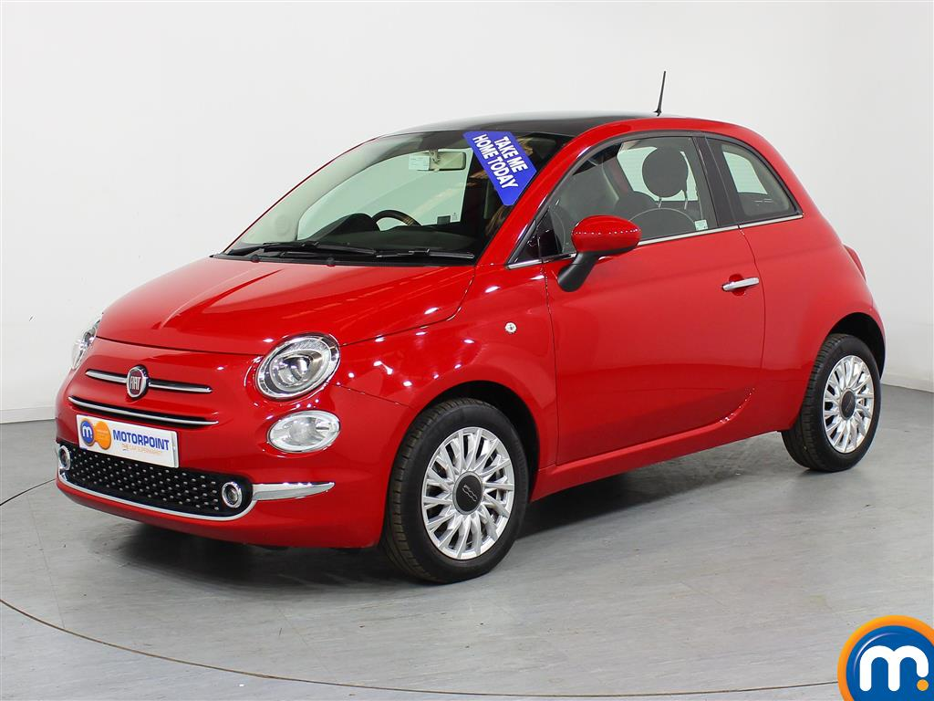 Fiat 500 Lounge - Stock Number (944509) - Passenger side front corner