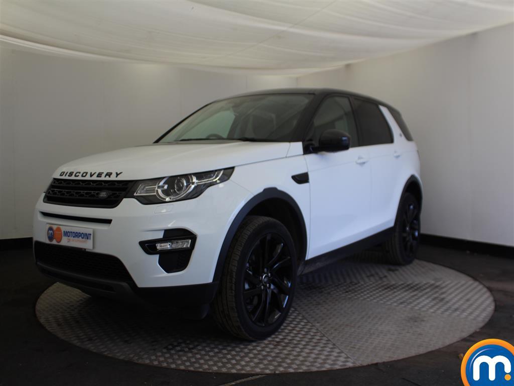 Land Rover Discovery Sport HSE Black - Stock Number (963465) - Passenger side front corner