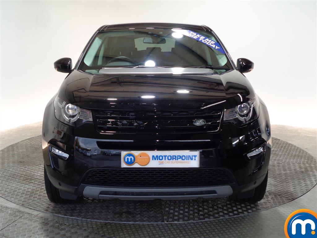 Land Rover Discovery Sport Hse Black Automatic Diesel 4X4 - Stock Number (961043) - Front bumper