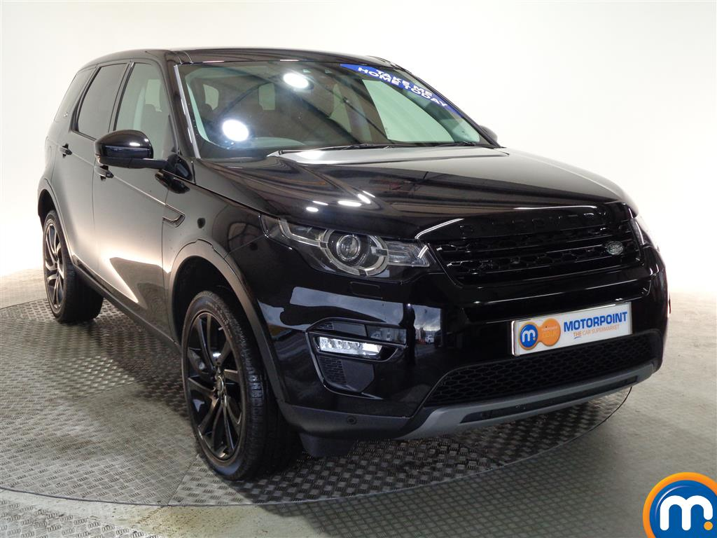 Land Rover Discovery Sport Hse Black Automatic Diesel 4X4 - Stock Number (961043) - Drivers side front corner