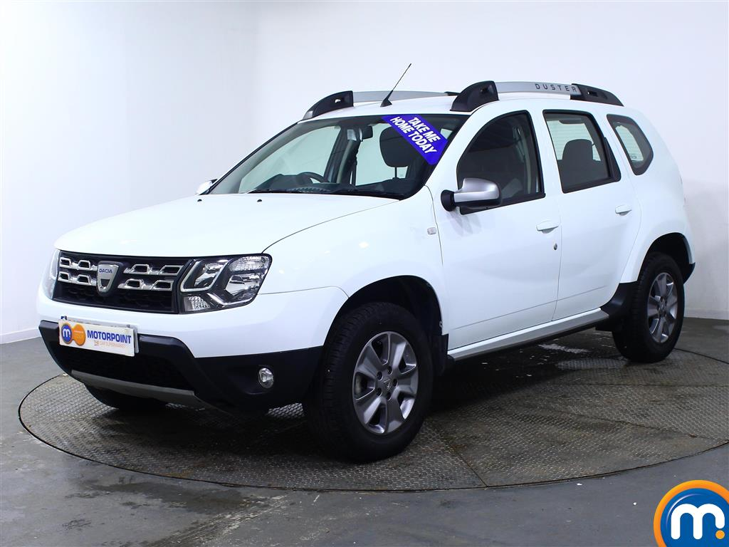 Dacia Duster Nav-Plus - Stock Number (962304) - Passenger side front corner