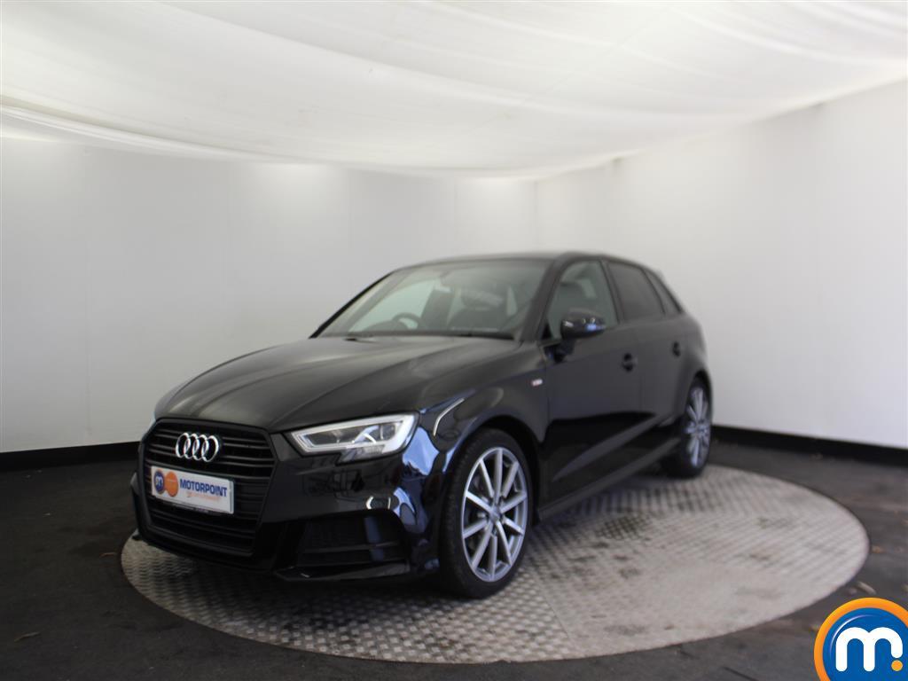 Audi A3 Black Edition - Stock Number (961975) - Passenger side front corner