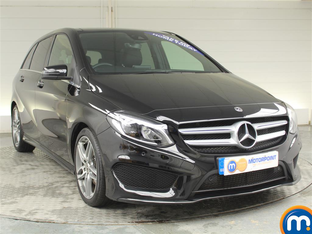 Mercedes-Benz B Class Amg Line Automatic Diesel Hatchback - Stock Number (952065) - Drivers side front corner