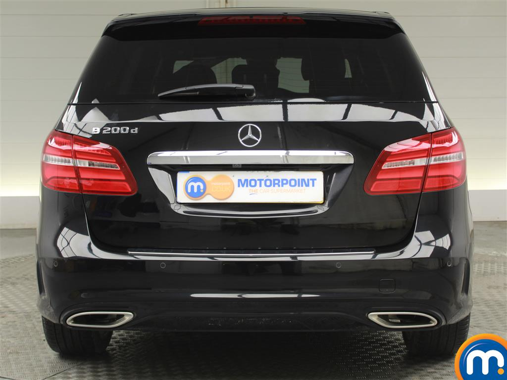 Mercedes-Benz B Class Amg Line Automatic Diesel Hatchback - Stock Number (952065) - Rear bumper