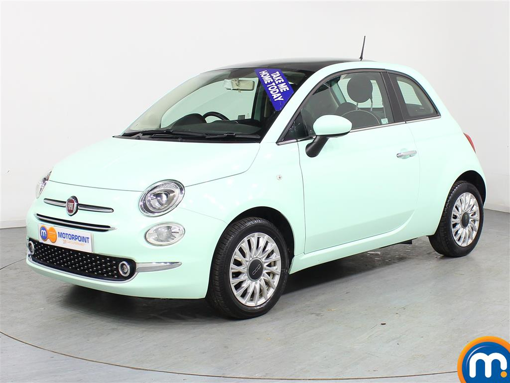 Fiat 500 Lounge - Stock Number (961466) - Passenger side front corner