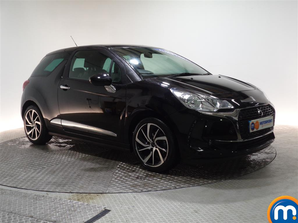 DS Ds 3 Connected Chic Manual Petrol Hatchback - Stock Number (961796) - Drivers side front corner