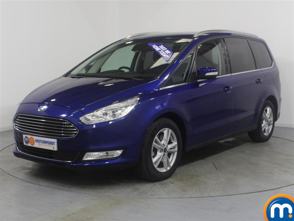 Ford Galaxy Titanium - Stock Number (962691) - Passenger side front corner