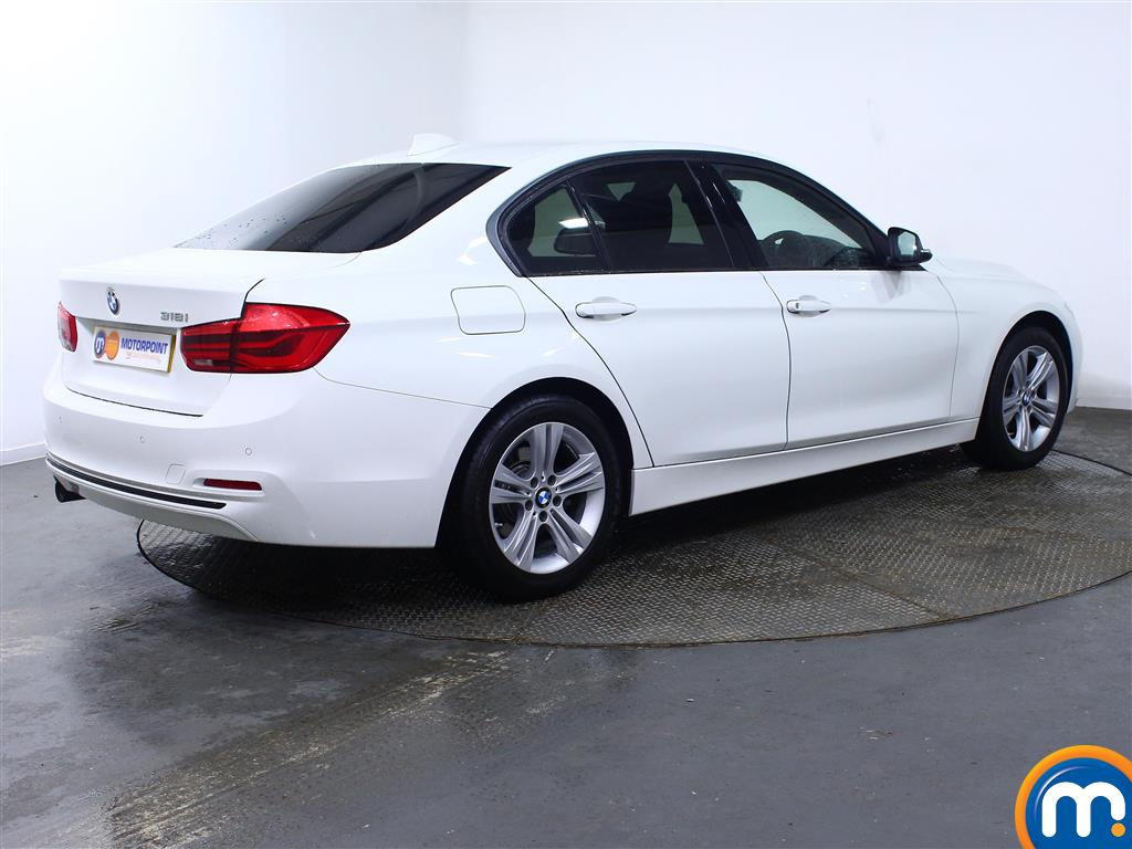 BMW 3 Series Sport Manual Petrol Saloon - Stock Number (967562) - Drivers side rear corner