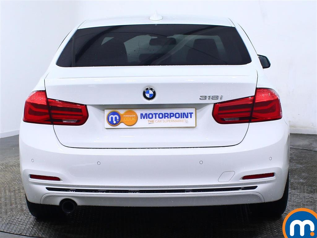 BMW 3 Series Sport Manual Petrol Saloon - Stock Number (967562) - Rear bumper