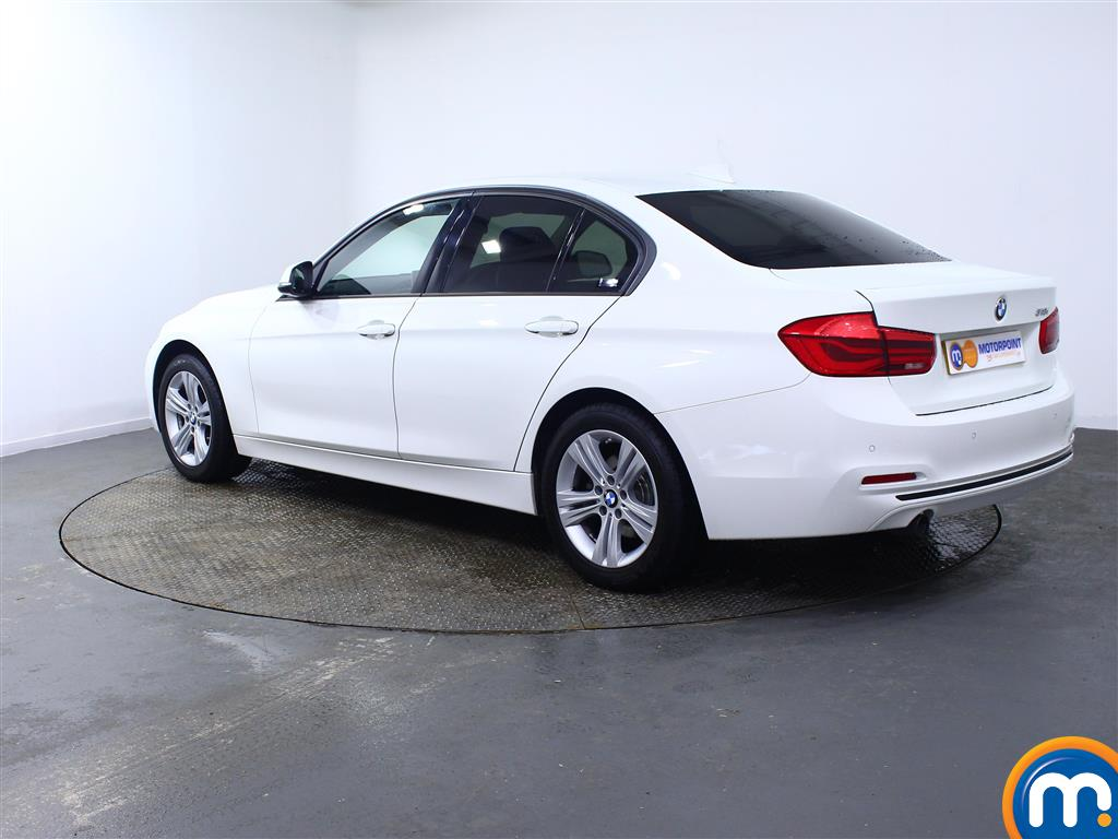 BMW 3 Series Sport Manual Petrol Saloon - Stock Number (967562) - Passenger side rear corner