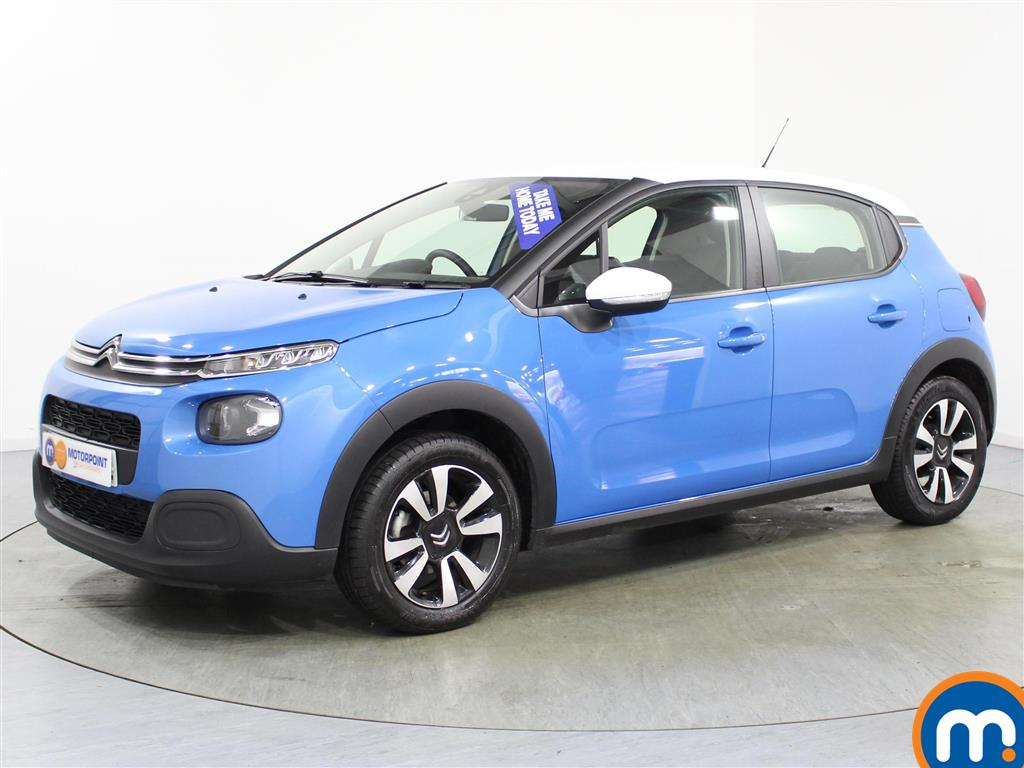 used or nearly new citroen c3 citroen 1 2 puretech 82 feel 5dr 961761 in blue for sale at. Black Bedroom Furniture Sets. Home Design Ideas