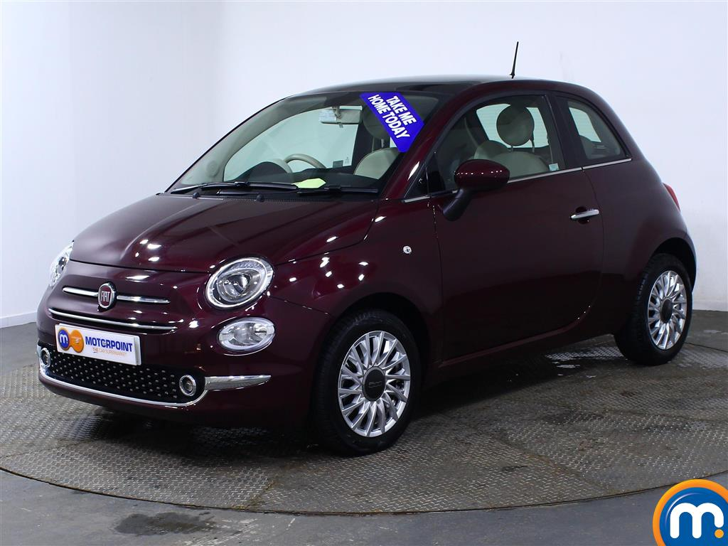 Fiat 500 Lounge Manual Petrol Hatchback - Stock Number (966243) - Passenger side front corner
