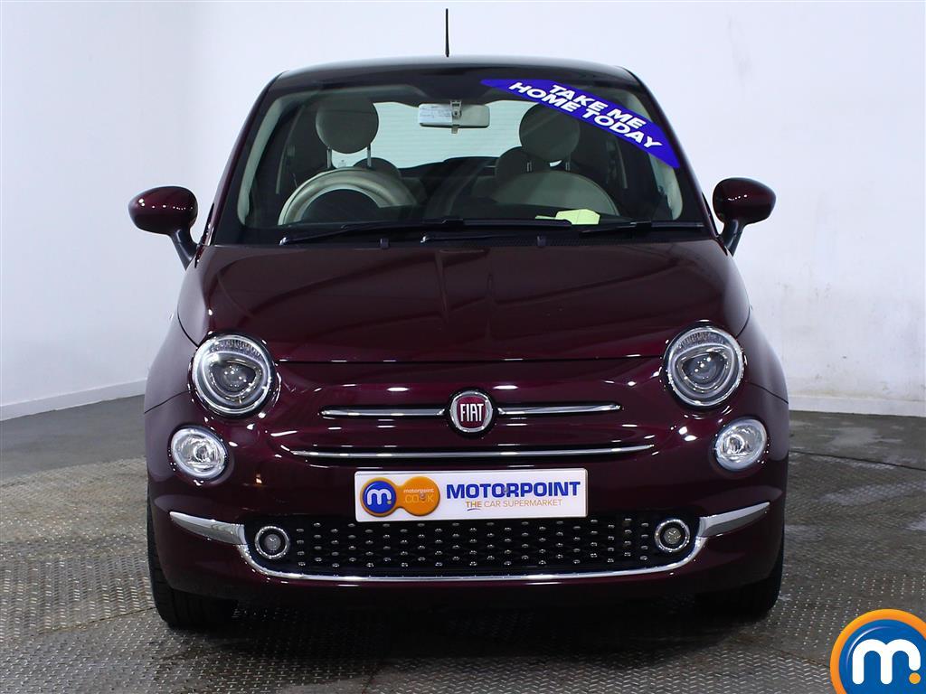 Fiat 500 Lounge Manual Petrol Hatchback - Stock Number (966243) - Front bumper