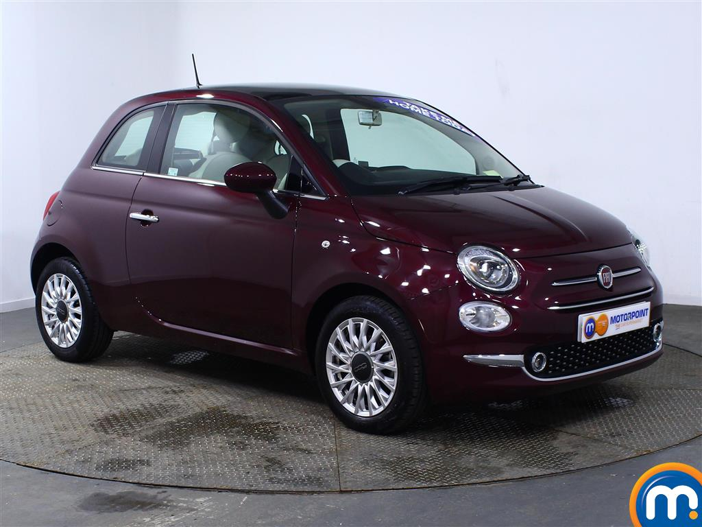 Fiat 500 Lounge Manual Petrol Hatchback - Stock Number (966243) - Drivers side front corner
