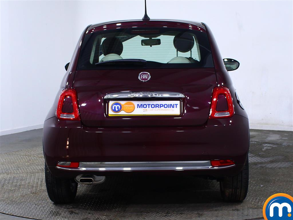 Fiat 500 Lounge Manual Petrol Hatchback - Stock Number (966243) - Rear bumper