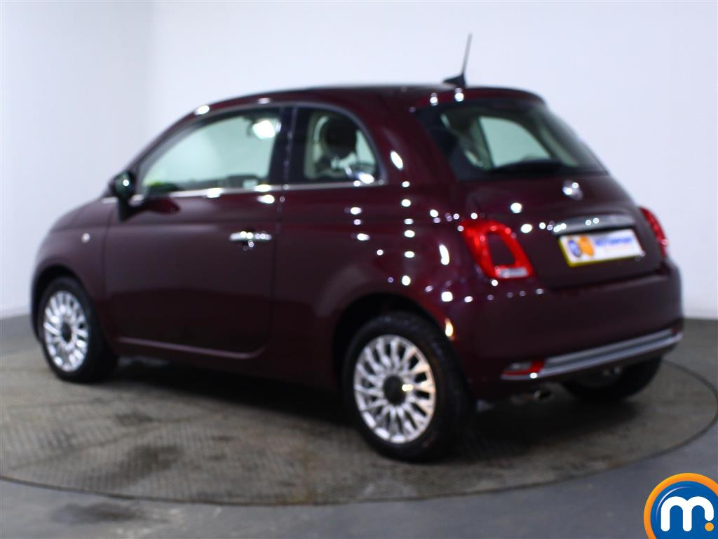 Fiat 500 Lounge Manual Petrol Hatchback - Stock Number (966243) - Passenger side rear corner