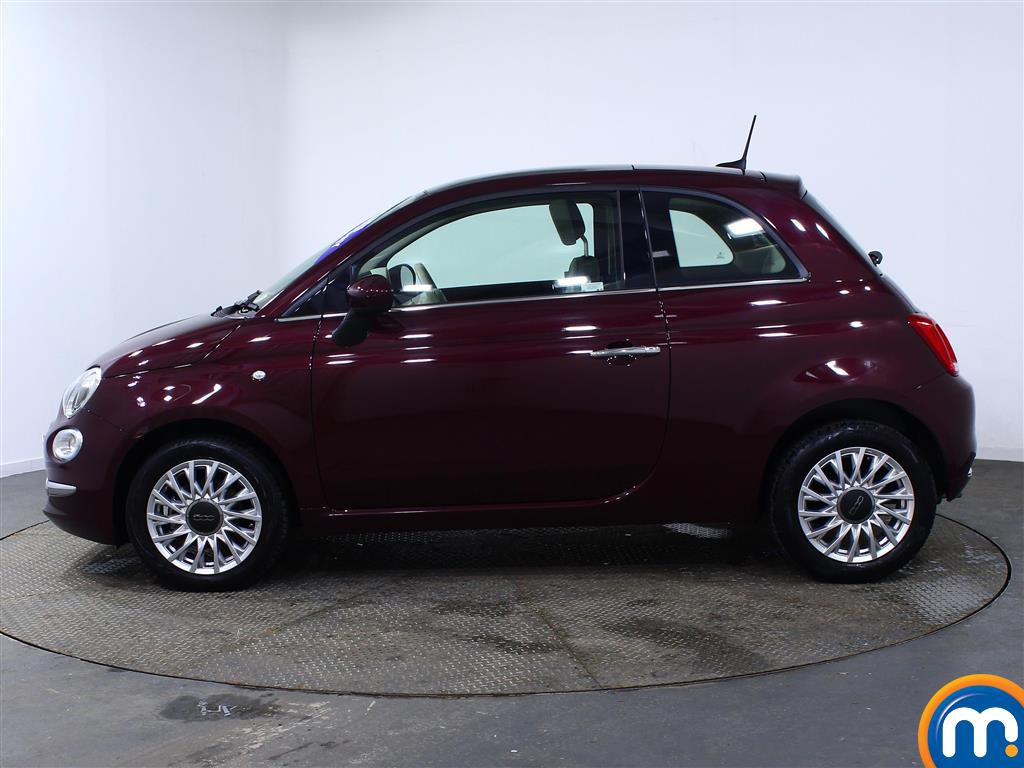 Fiat 500 Lounge Manual Petrol Hatchback - Stock Number (966243) - Passenger side