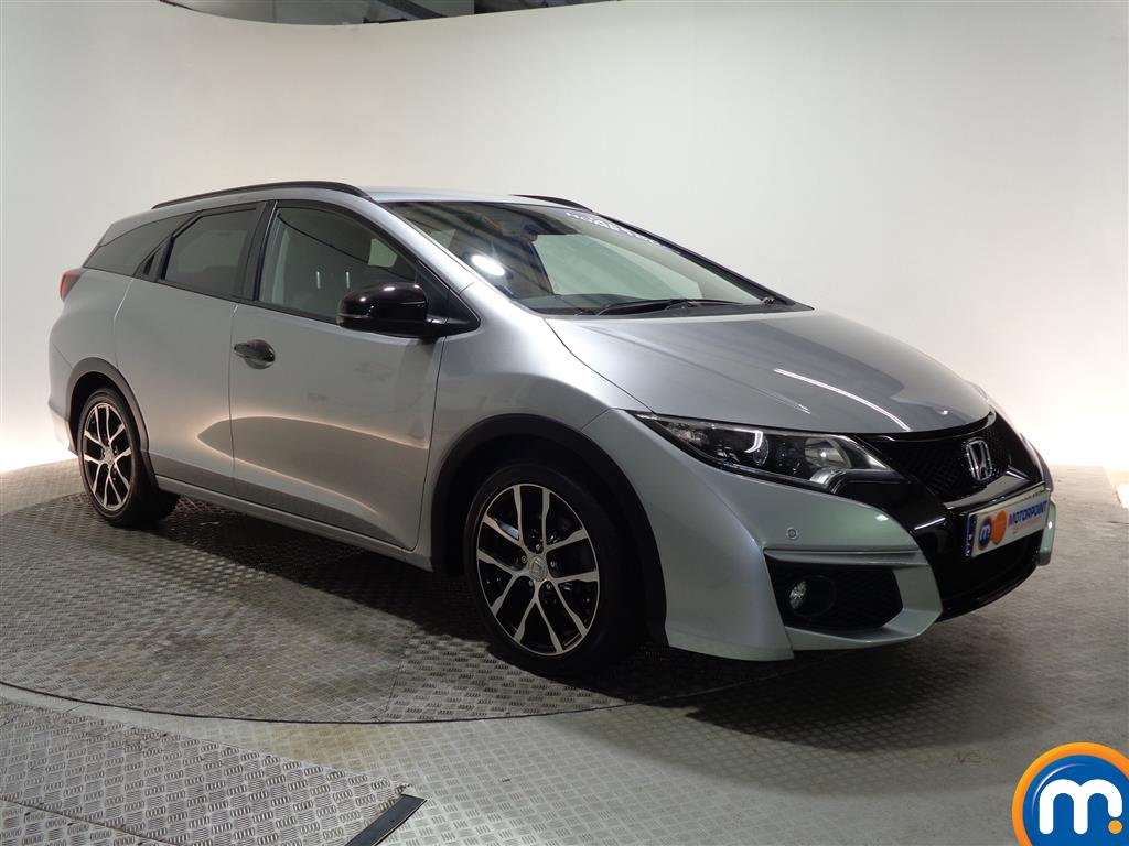 Honda Civic Sport Nav Automatic Petrol Estate - Stock Number (960658) - Drivers side front corner