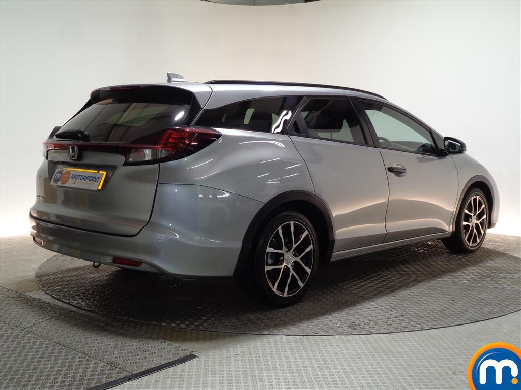 Honda Civic Sport Nav Automatic Petrol Estate - Stock Number (960658) - Drivers side rear corner