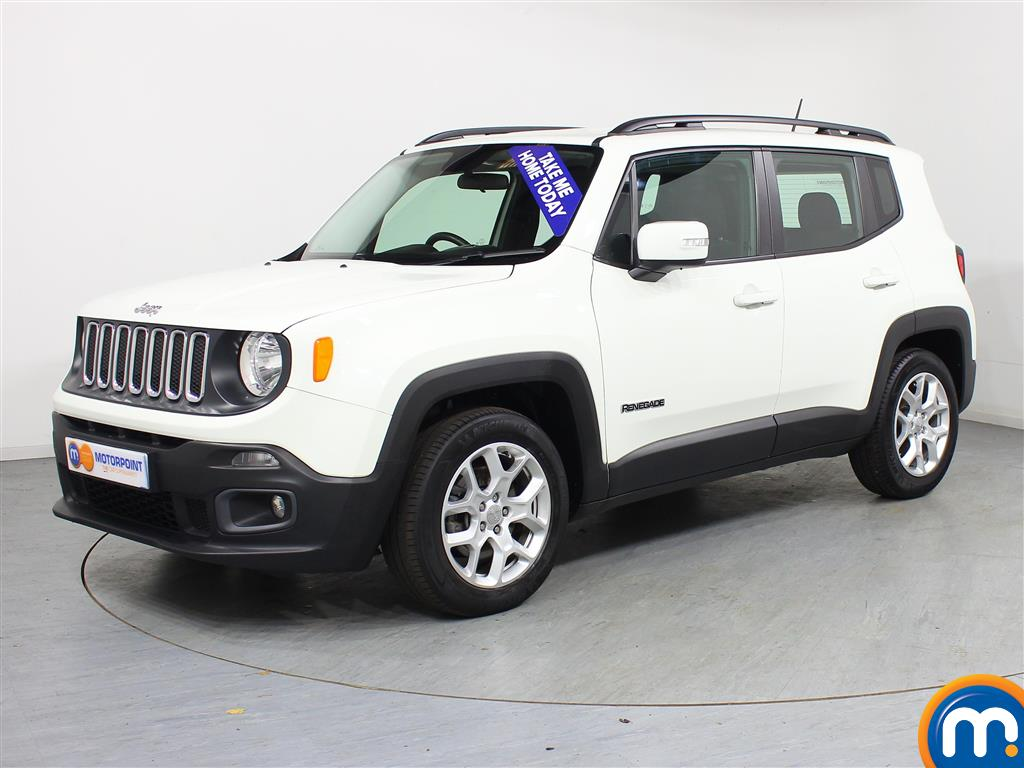 Jeep Renegade Longitude - Stock Number (964260) - Passenger side front corner