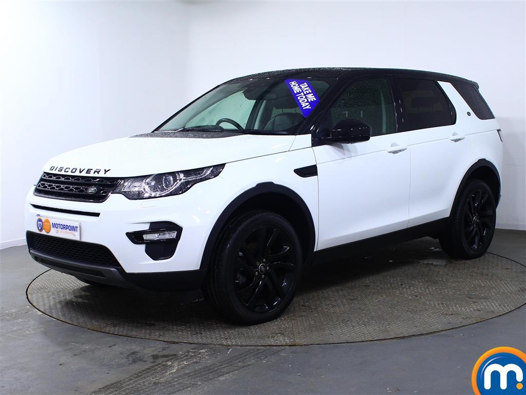 Land Rover Discovery Sport HSE Black - Stock Number (967557) - Passenger side front corner