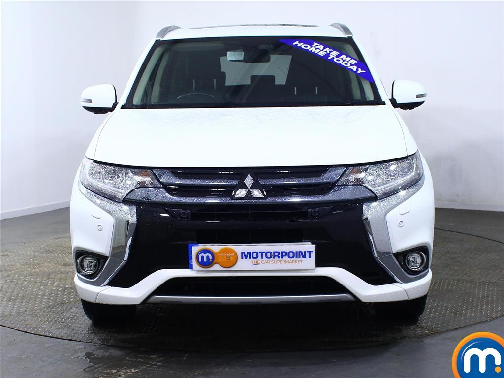 Mitsubishi Outlander 4S Automatic Petrol-Plugin Elec Hybrid 4X4 - Stock Number (959088) - Front bumper