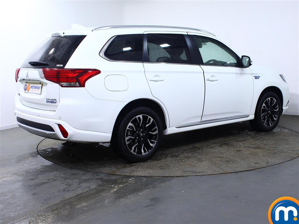 Mitsubishi Outlander 4S Automatic Petrol-Plugin Elec Hybrid 4X4 - Stock Number (959088) - Drivers side rear corner