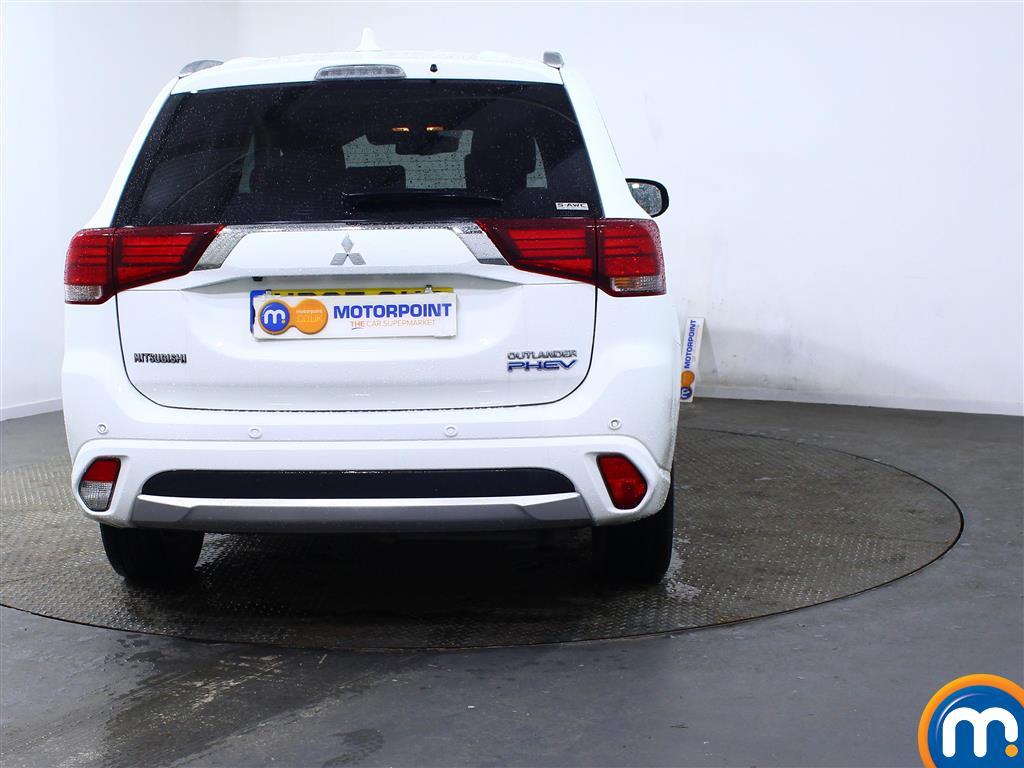 Mitsubishi Outlander 4S Automatic Petrol-Plugin Elec Hybrid 4X4 - Stock Number (959088) - Rear bumper