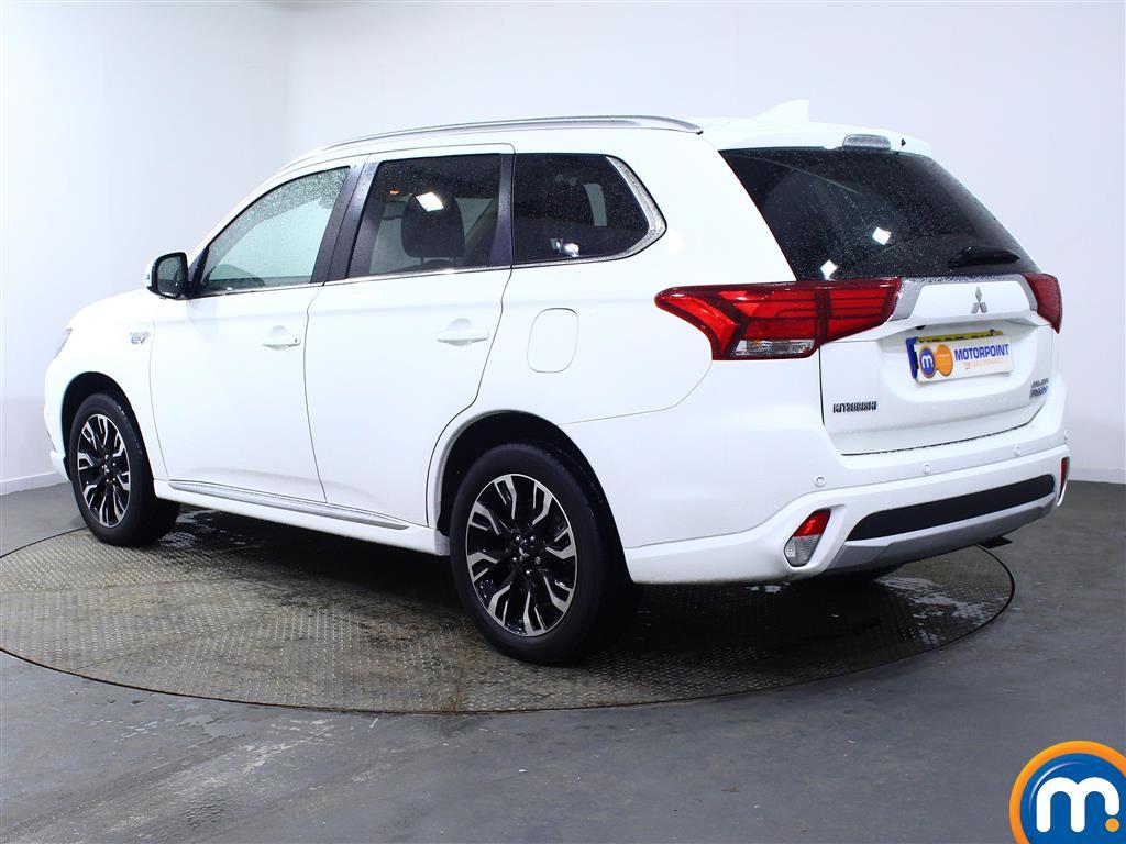 Mitsubishi Outlander 4S Automatic Petrol-Plugin Elec Hybrid 4X4 - Stock Number (959088) - Passenger side rear corner