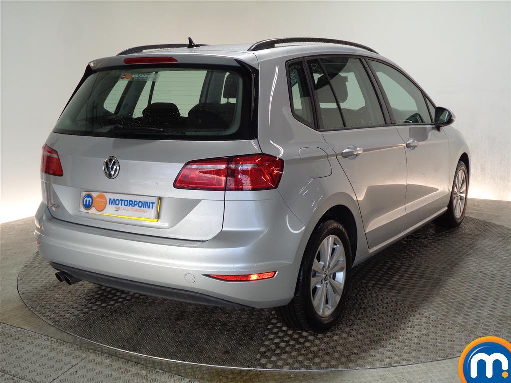 Volkswagen Golf Sv SE Manual Diesel Hatchback - Stock Number (965932) - Drivers side rear corner