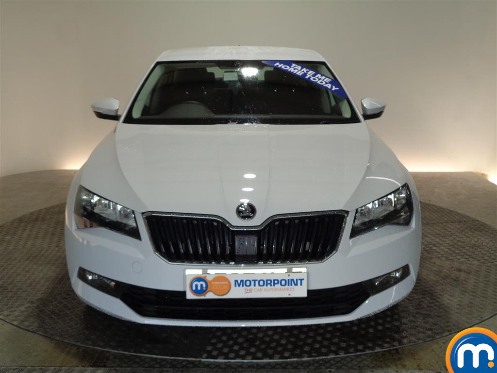Skoda Superb S Manual Petrol Hatchback - Stock Number (968449) - Front bumper