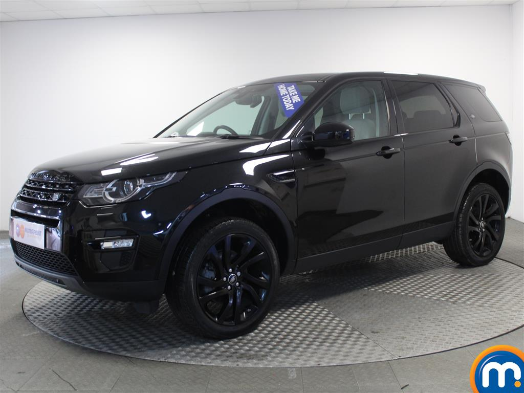 Land Rover Discovery Sport HSE Black - Stock Number (963470) - Passenger side front corner