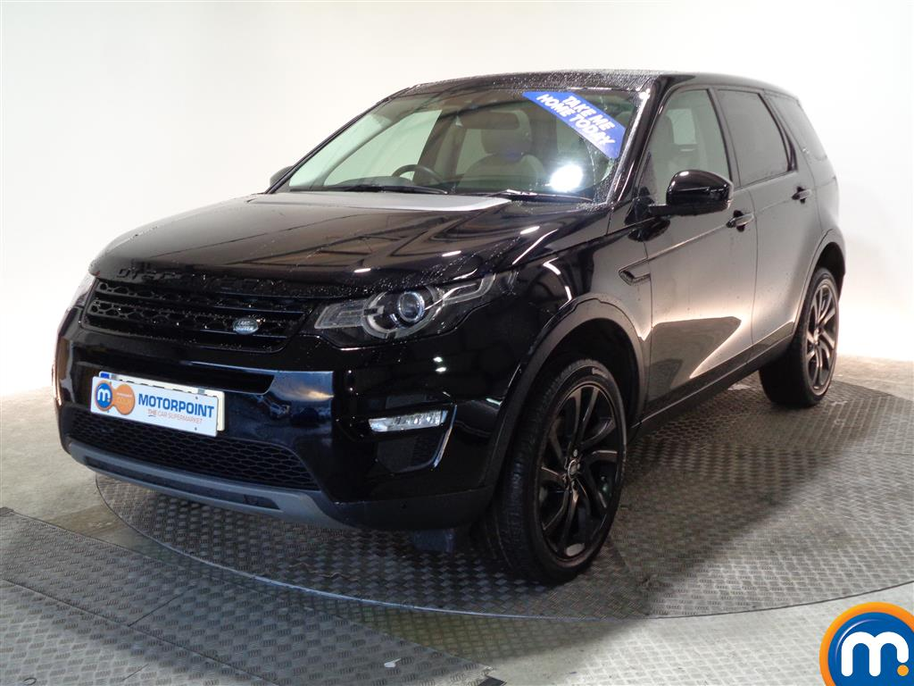 Land Rover Discovery Sport HSE Black - Stock Number (966826) - Passenger side front corner
