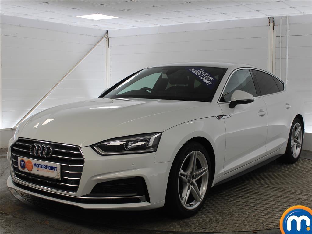 Audi A5 S Line - Stock Number (970052) - Passenger side front corner